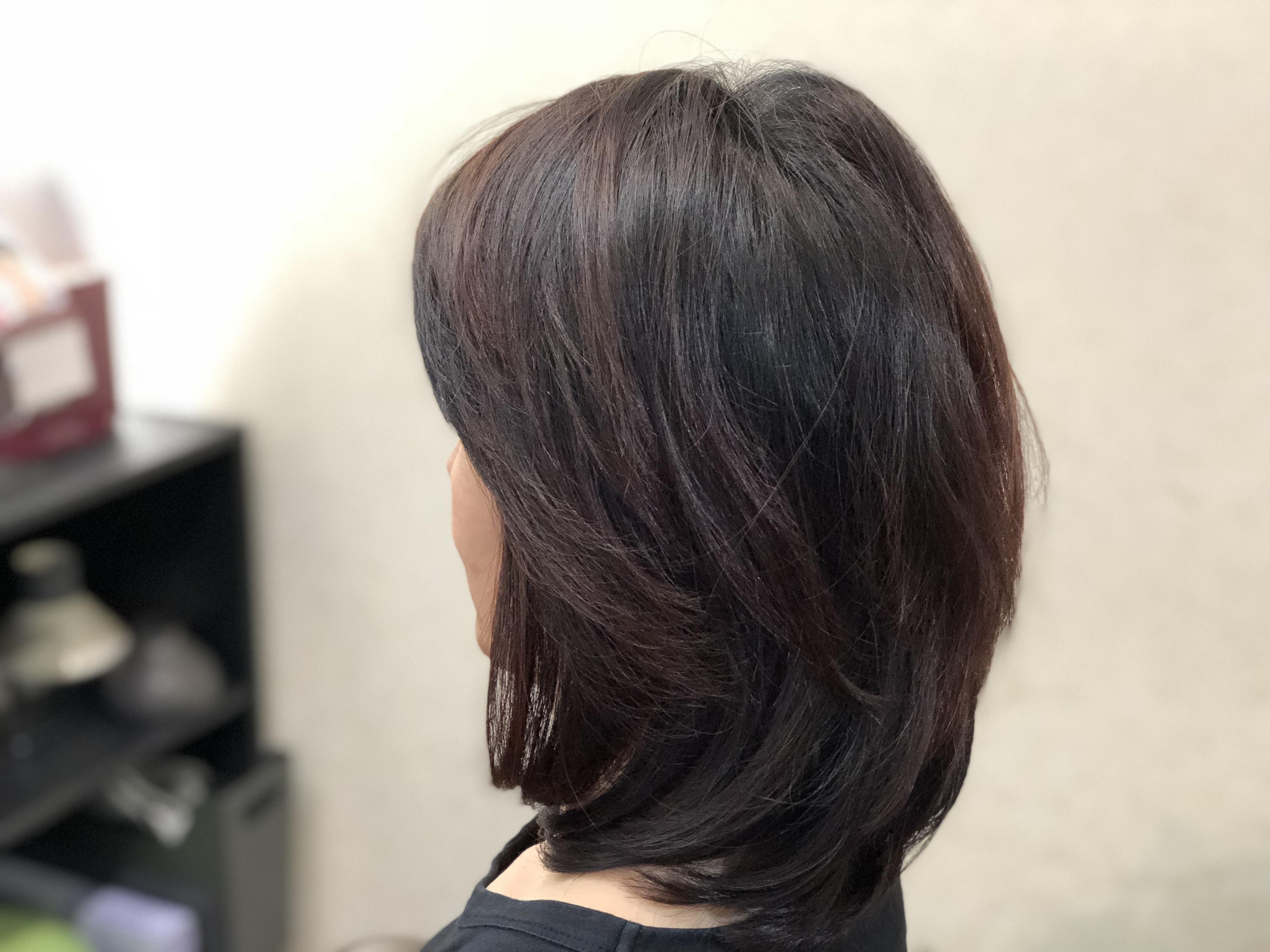 カラーからヘナに変えて細い髪がふんわりとして絡まなくなった。