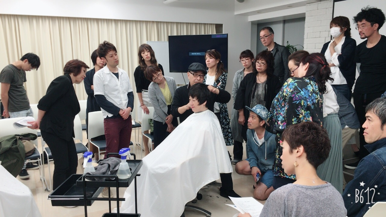 第2回札幌キュビズムカット体験会。