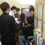 夙川アンヌ美容室でのキュビズムカット講習(一般社団法人キュビズムカット協会)