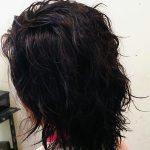 くせ毛にキュビズムカットとヘナを続けて!1年4ヶ月の経過を見てみよう・・エアードライで決まる。