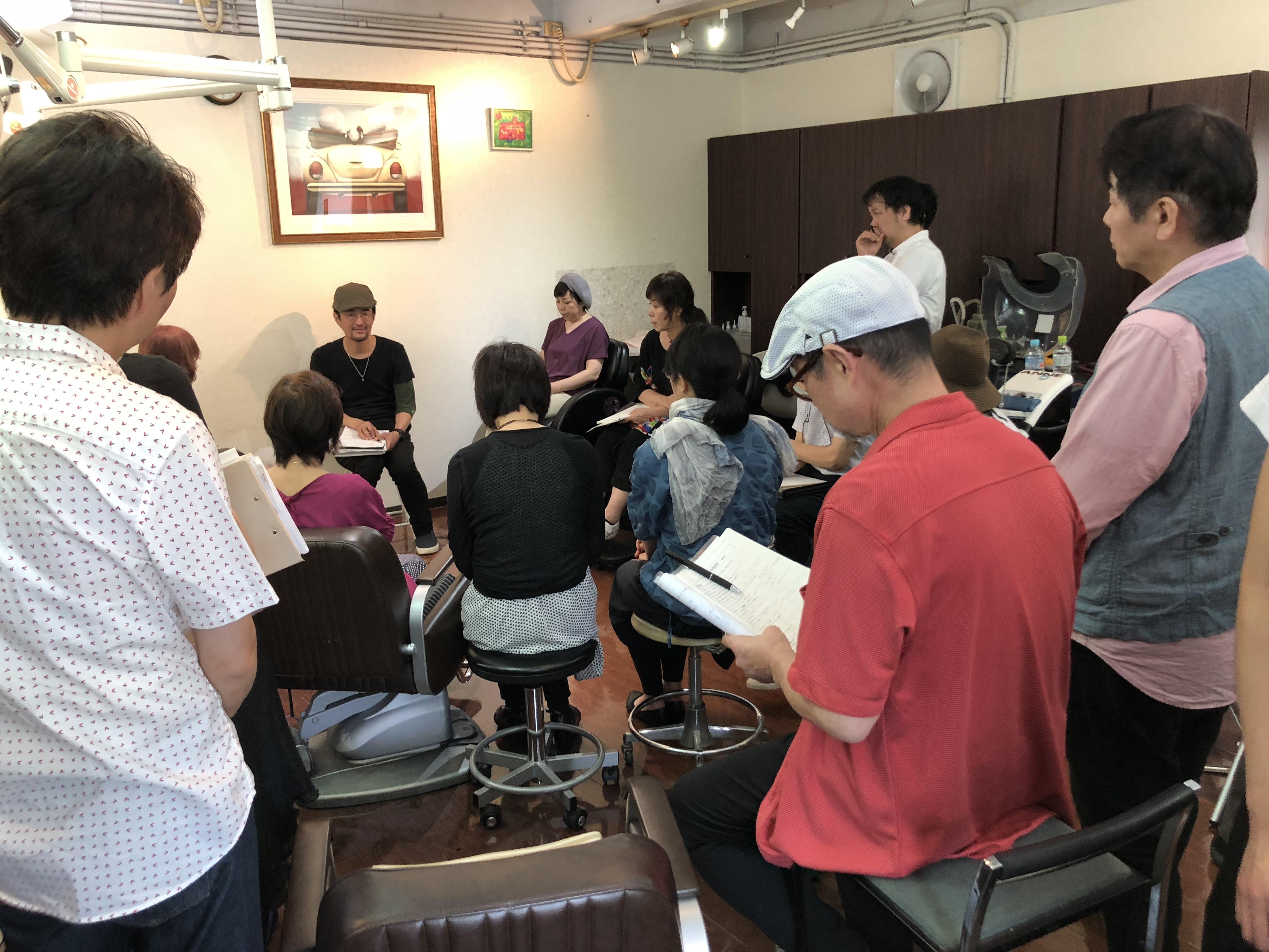 夙川キュビズムカット講習会