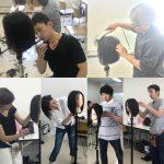 福岡、東京、札幌、キュビズムカット講習会。