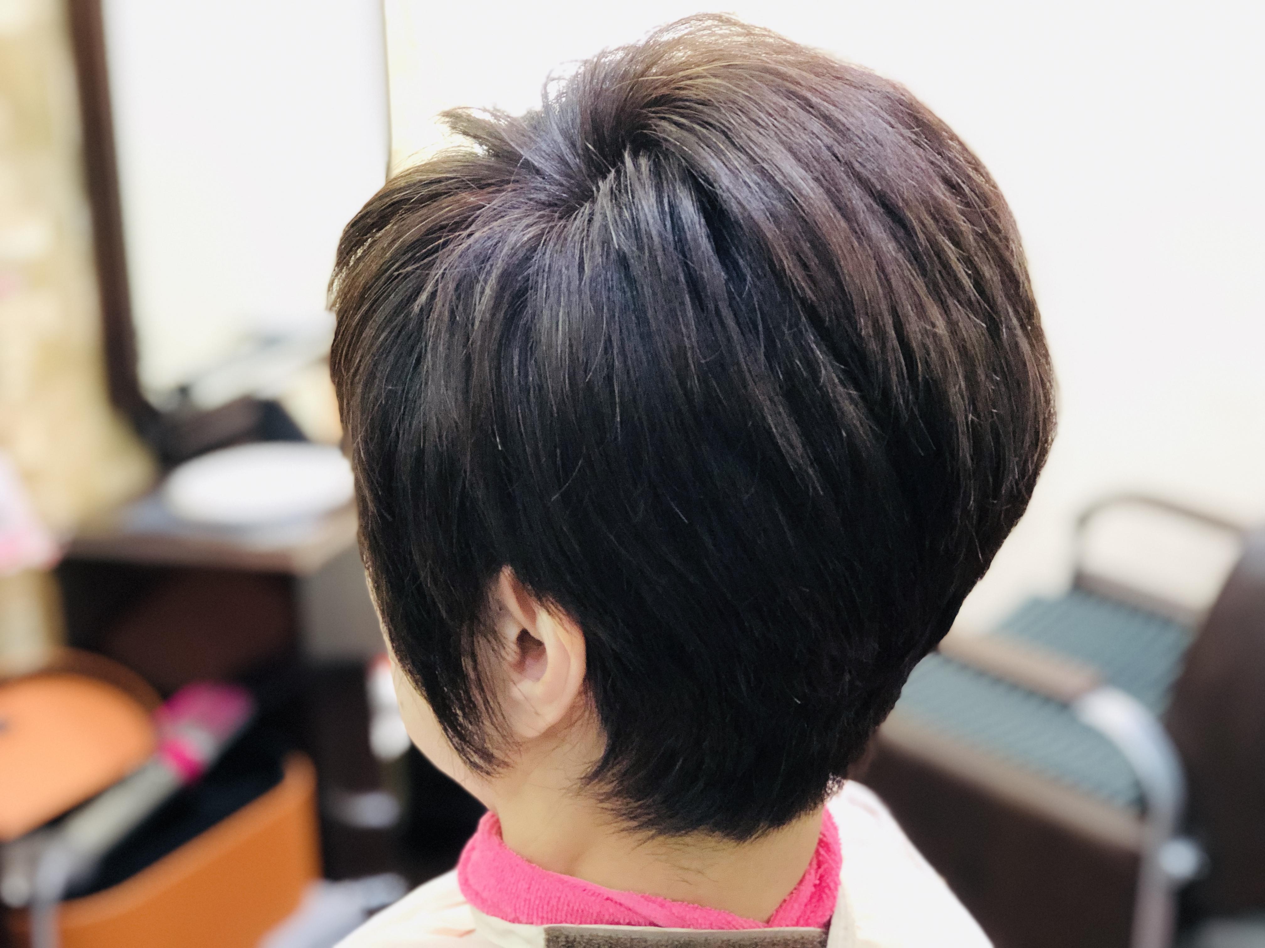 くせ毛で多い髪、雨が近づくと癖が広がり頭が大きくなるのが悩み。