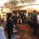 夙川キュビズムカット講習。