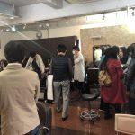 夙川キュビズムカット講習会。