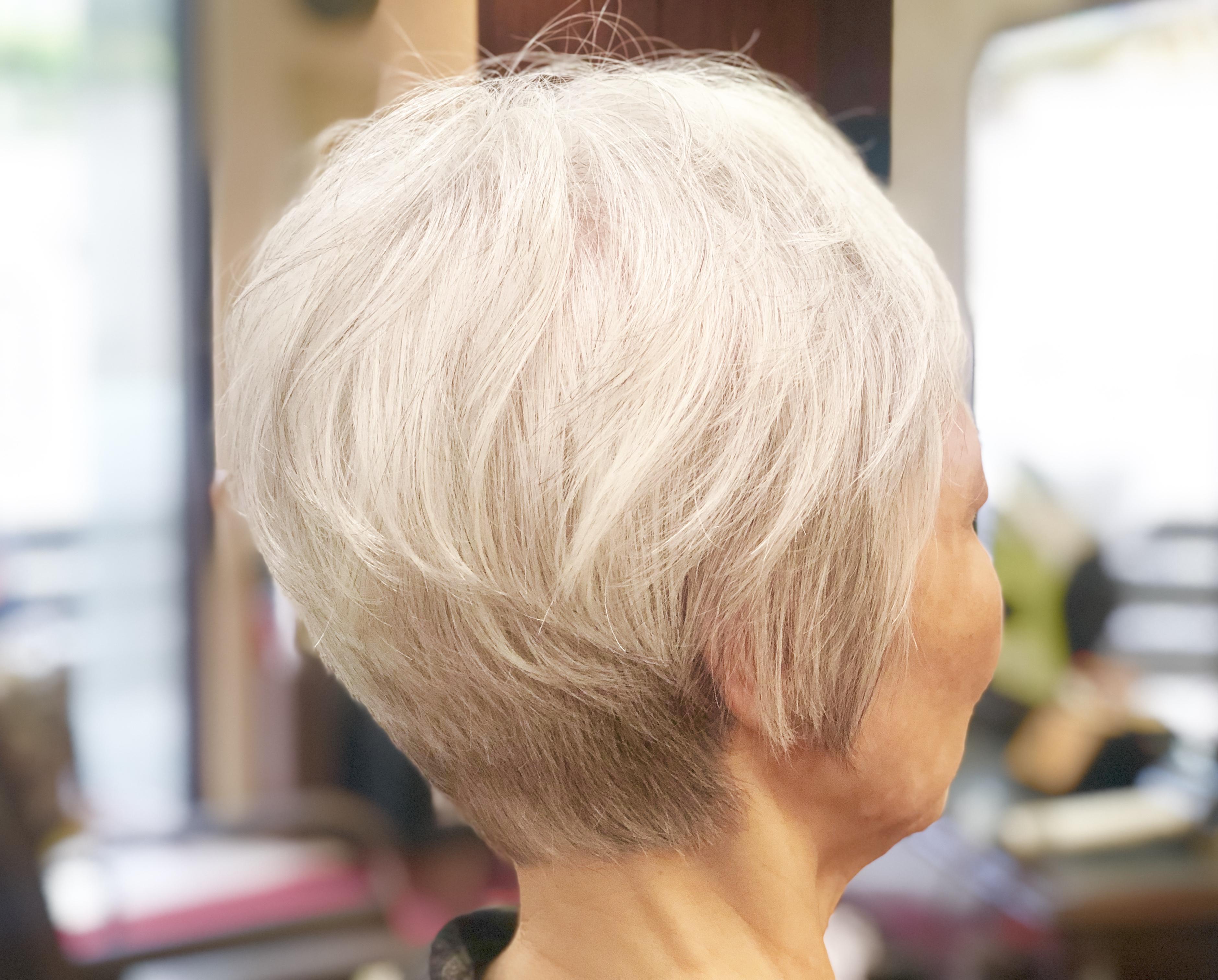 髪型 ショート ベリー 代 60