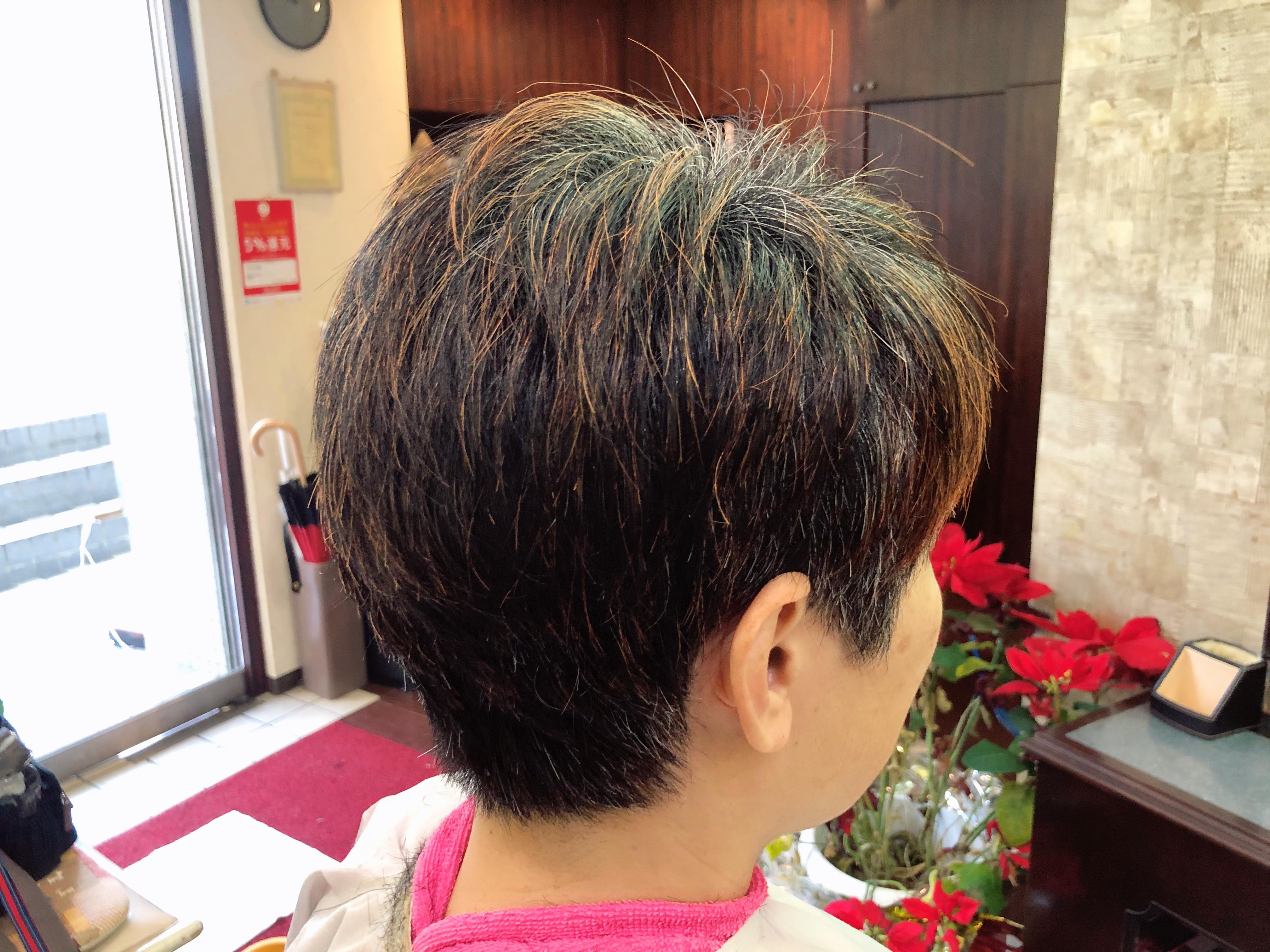 くせ毛カット、お客さまの髪長さの結論は!