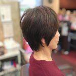 くせ毛、ハリコシ、薄毛、多毛、など他にない髪の悩みに特化したブローレスキュビズムカットスタイル(アンヌ美容室)