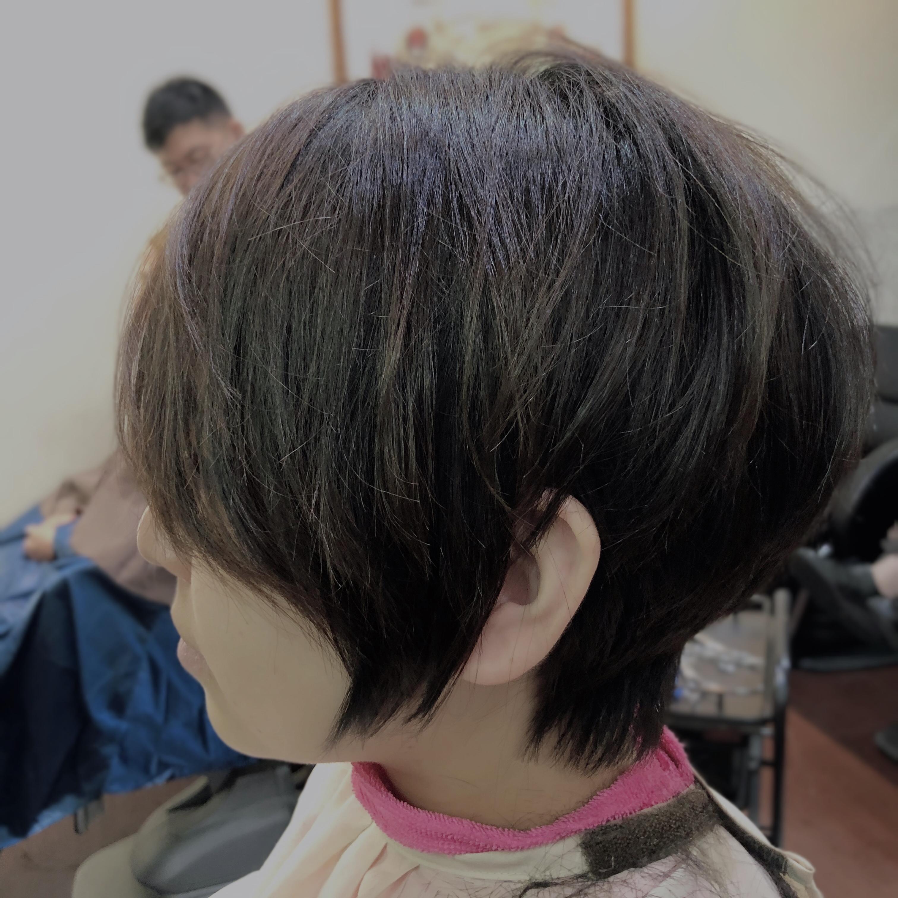 統計では80%の人がブローレススタイルに関心を持っている。夙川アンヌ美容室