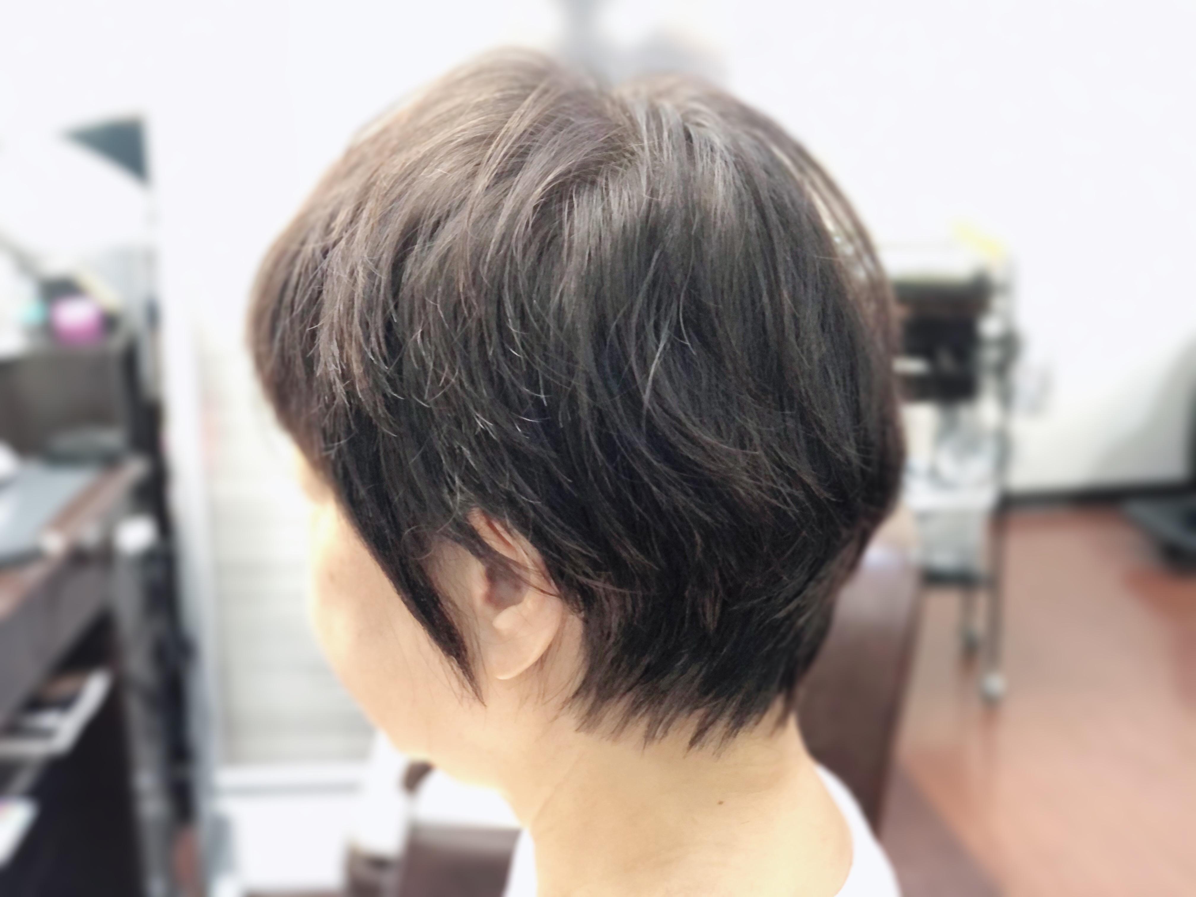 アンヌ美容室 ビフォーアフター(動画)