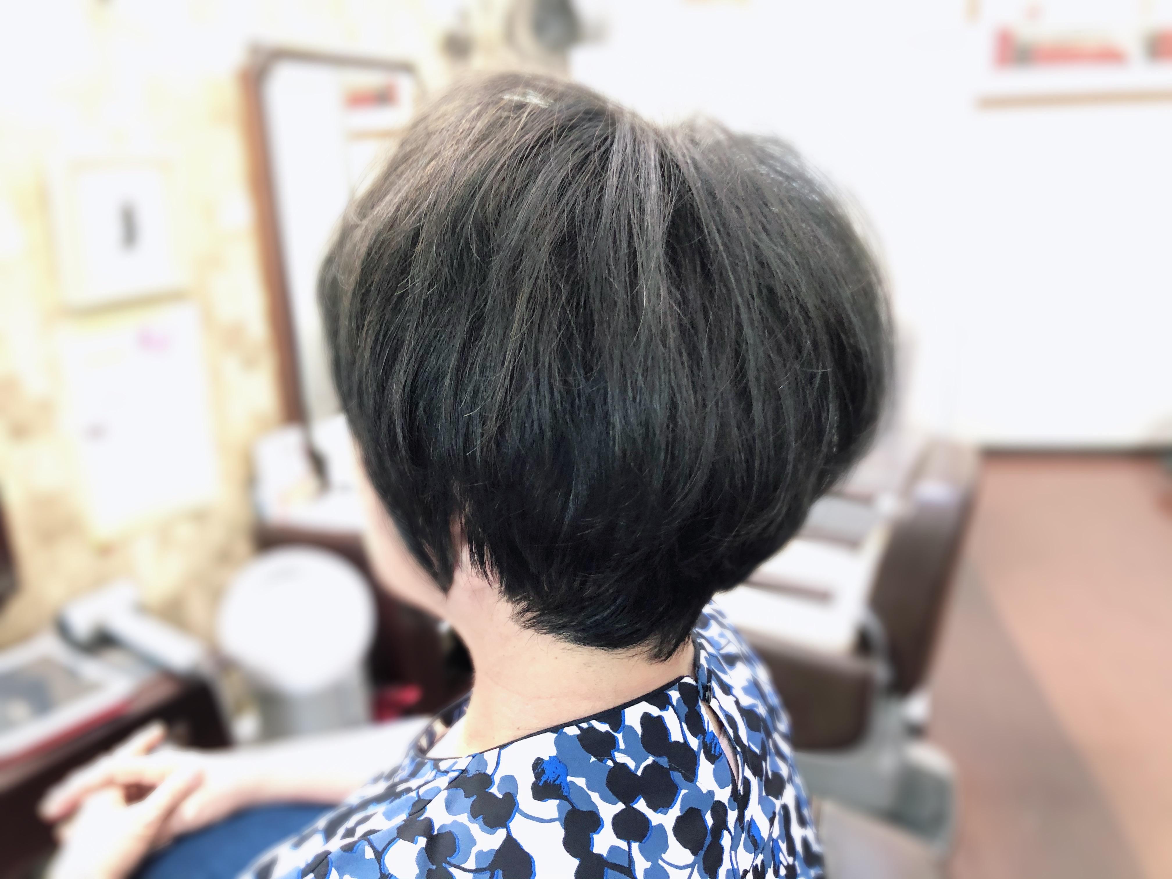 60代髪型 白髪くせ毛の悩み解決!(動画)